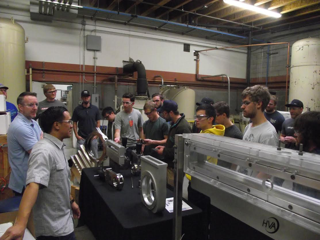 HVA Welcomes University of Nevada Manufacturing Process Class